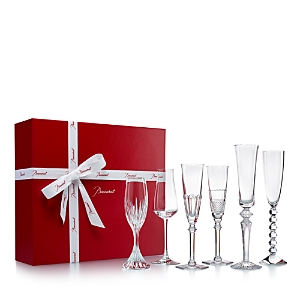 Baccarat 6-Piece Bubbles In a Box Set