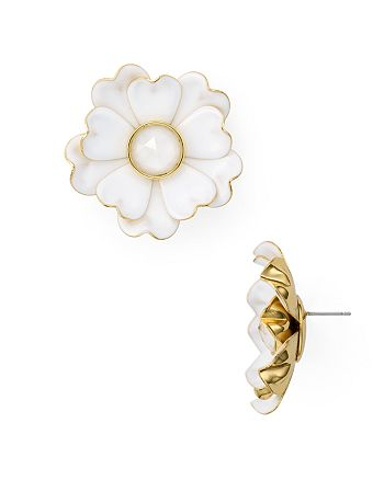 kate spade new york - Flower Statement Stud Earrings