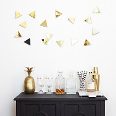 Umbra - Peel n' Stick Confetti Triangles, Set of 16