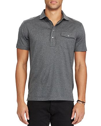 Polo Ralph Lauren - Hampton Cotton Lisle Classic Fit Polo Shirt