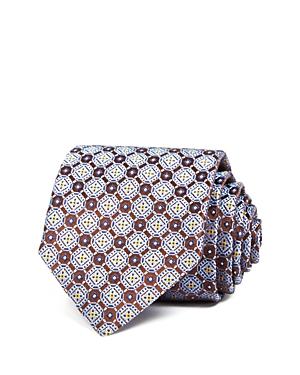 Canali Geometric Medallion Classic Tie