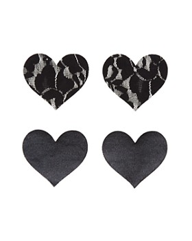 Bristols Six - Nippies Basics Heart Pasties