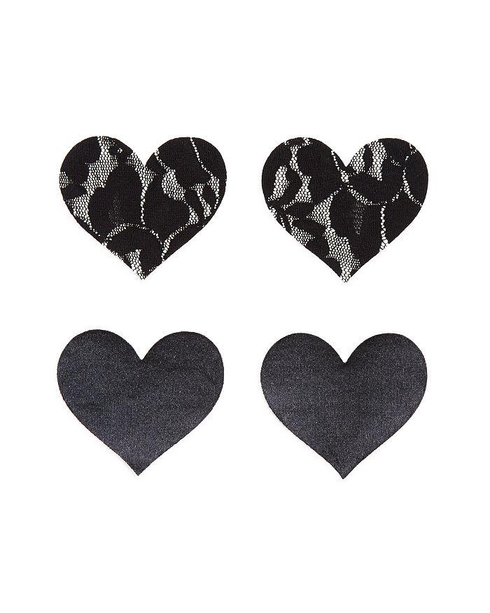 Bristols Six - Nippies Basics Heart Pasties