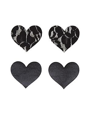 Bristols Six Nippies Basics Heart Pasties