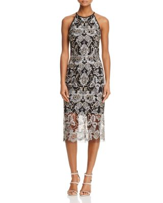 $AQUA Sleeveless Lace Cocktail Dress - 100% Exclusive - Bloomingdale's