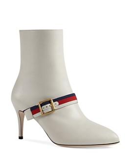 Gucci - Women's Sylvie Buckle Booties