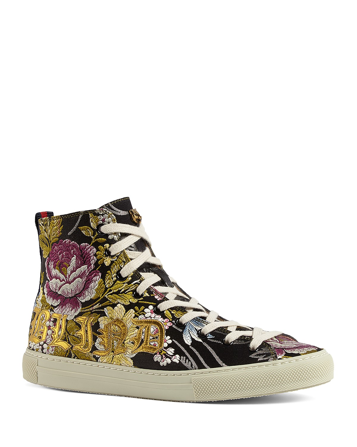 Gucci Blind For Love Floral Embroidered High-Top Sneakers GvW7BT4Z