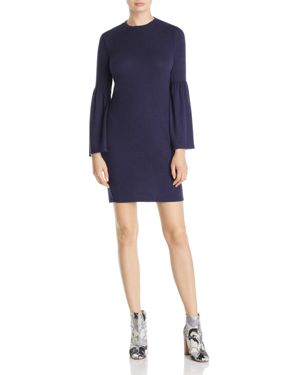 B Collection by Bobeau Bell Sleeve Sweater Dress - 100% Exclusive
