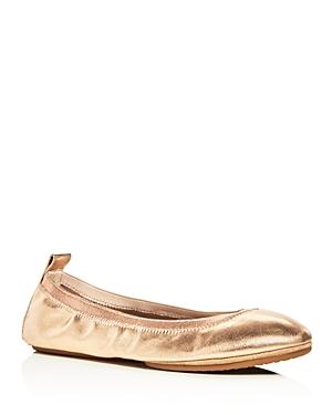 Yosi Samra Samara 2.0 Metallic Ballet Flats