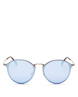 Ray-Ban Mirrored Round Sunglasses, 59mm