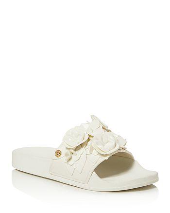 Tory Burch - Women's Blossom Pool Slide Sandals