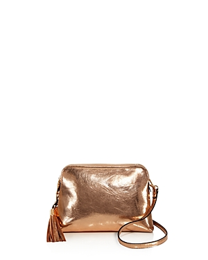 Sunset & Spring Double Pouch Metallic Crossbody - 100% Exclusive
