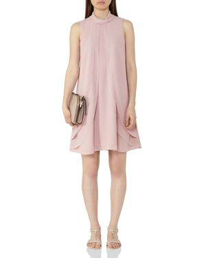 Reiss Cohen Overlay Dress