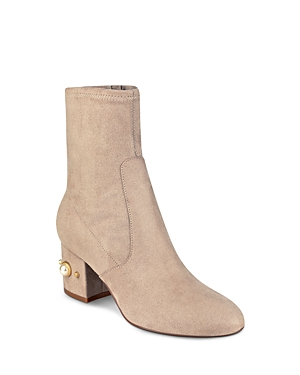 Ivanka Trump Previ Faux Pearl Embellished Booties