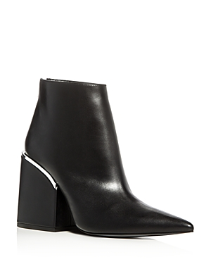 Marni Pointed Toe Block Heel Booties