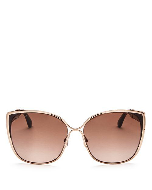 Jimmy Choo - Women's Matys Square Sunglasses, 58mm