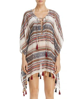 Becca by Rebecca Virtue Shoreline Poncho Swim Cover-Up