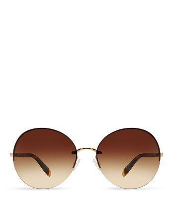 Oliver Peoples - Women's Jorie Round Sunglasses, 62mm