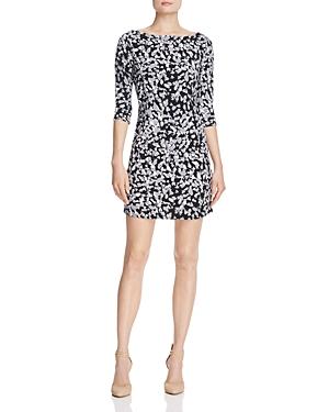Leota Nouveau Animal Print Knit Sheath Dress