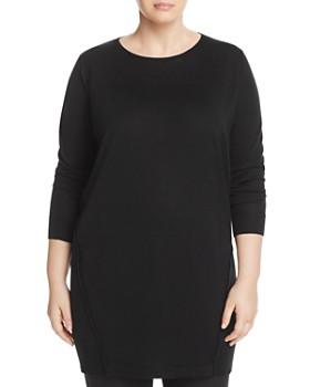 Marina Rinaldi - Galletto Wool-Blend Knit Dress