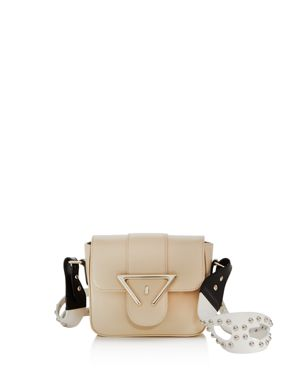 Sara Battaglia Cara Mini Leather Crossbody