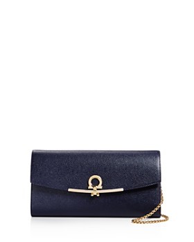 Salvatore Ferragamo Continental Gancino Clip Score Mini Bag