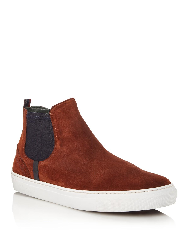 Ted Baker Lykeen Suede Slip-On Sneakers - 100% Exclusive hsvaM