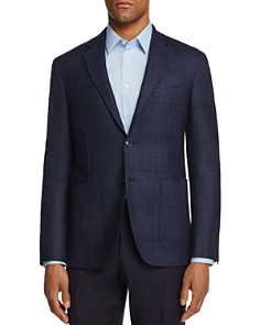 Canali - Kei Tonal Plaid Classic Fit Sport Coat