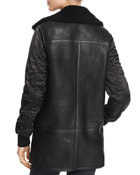 Andrew Marc - Long Shearling Jacket