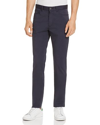 Theory - Brewster Sateen Five-Pocket Slim Fit Chino Pants - 100% Exclusive