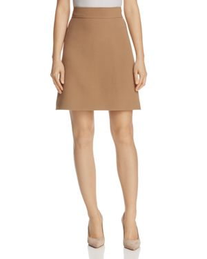Theory Cam A-Line Skirt