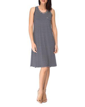 B Collection by Bobeau Stripe Racerback Dress