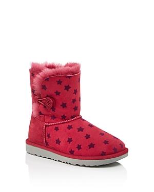 Ugg Girls Bailey Button Star Print Boots  Walker Toddler