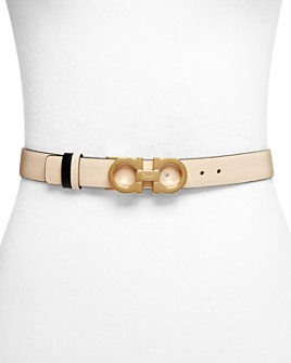 Salvatore Ferragamo - Women's Skinny Gancini Belt
