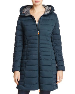 Save The Duck Packable Quilted Long Puffer Coat - 100% Exclusive