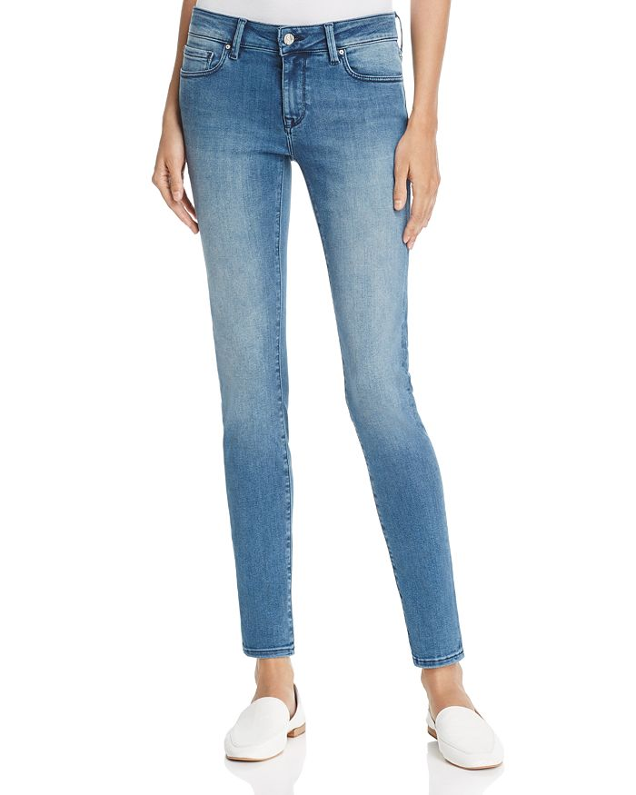 Mavi - Adriana Skinny Jeans in Light Fogg