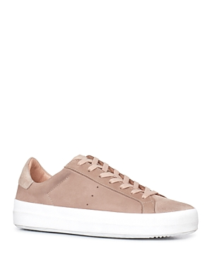 Allsaints Safia Leather Lace Up Sneakers