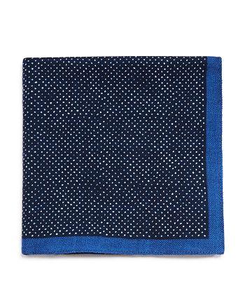 BOSS - Mini Dot Pocket Square