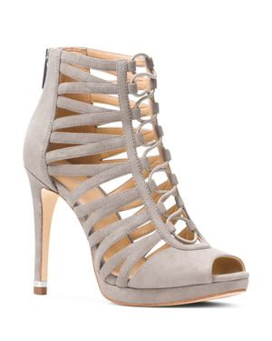 Michael Michael Kors Clarissa Caged Platform High Heel Sandals