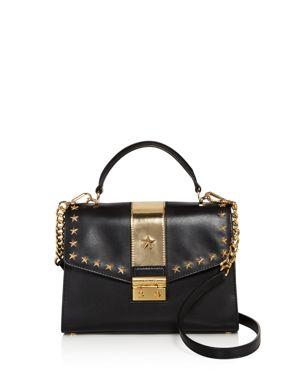 Michael Michael Kors Sloan Studded Top Handle Medium Leather Satchel - 100% Exclusive 2645607