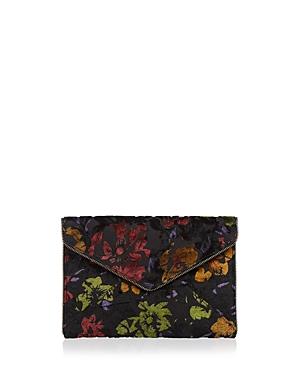 Rebecca Minkoff Leo Floral Velvet Clutch