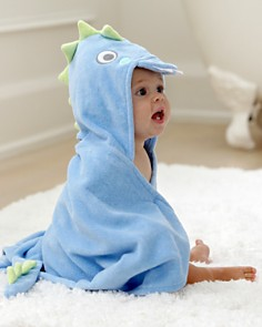 Elegant Baby - Infant Boys' Dinosaur Hooded Bath Towel