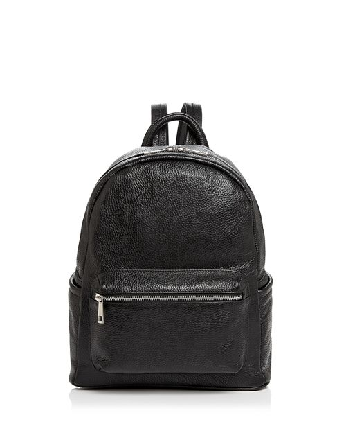 AQUA - Leather Backpack - 100% Exclusive