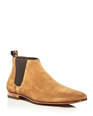 Paul Smith Tan Suede Marlowe Chelsea Boots HN8zK6c2