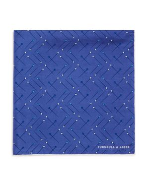 Turnbull & Asser Sewing Pin Pocket Square 2632184