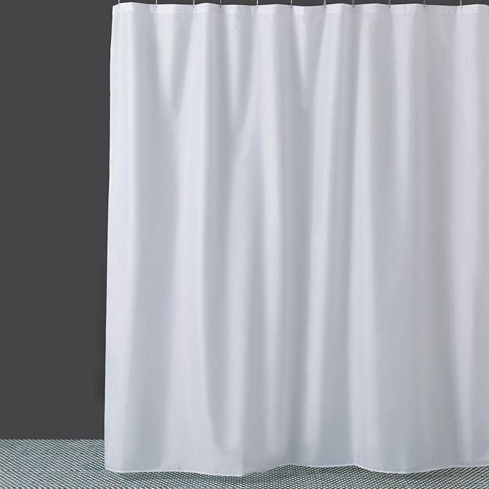 InterDesign Fabric Shower Curtain Liner
