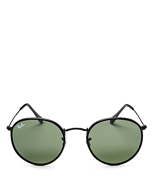 Ray-Ban Craft Round Sunglasses, 50mm