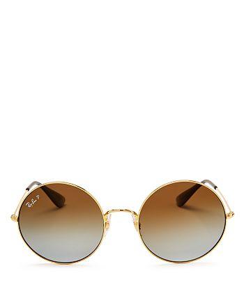 a8a61021af Ray-Ban - Unisex Ja-Jo Polarized Round Sunglasses