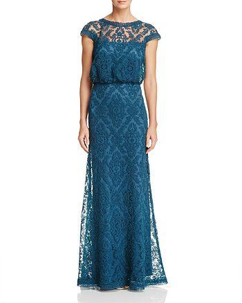 Tadashi Shoji - Embroidered Blouson Gown - 100% Exclusive