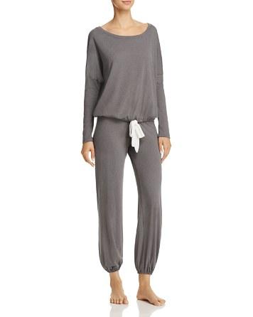 $Eberjey Heather Slouchy Tee & Lounge Pants - Bloomingdale's